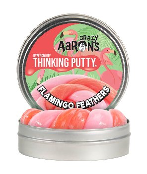 "Flamingo Feathers Putty 4"" Tin (Hypercolor)"