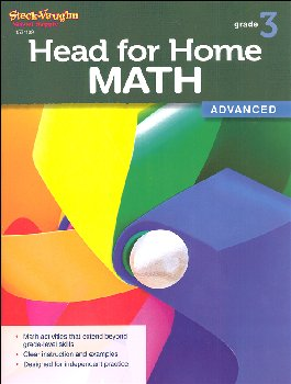Head for Home Math Advanced Grade 3