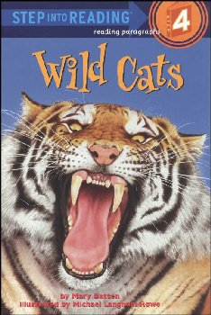Wild Cats (Step into Reading Level 4)