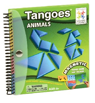 Tangoes Animals (Magnetic Travel Game)