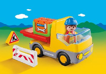 Construction Truck (Playmobil 1-2-3)