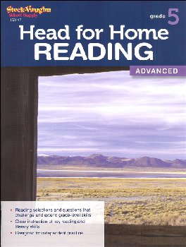 Head for Home Reading Advanced Grade 5