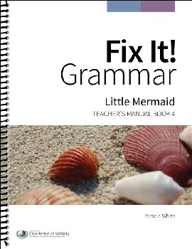 Fix It! Grammar Teacher's Manual Book 4: Little Mermaid