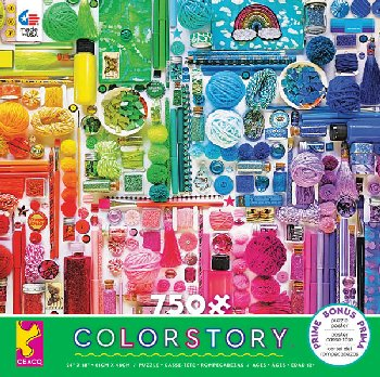 Colorstory Rainbow Craft Puzzle (750 piece)