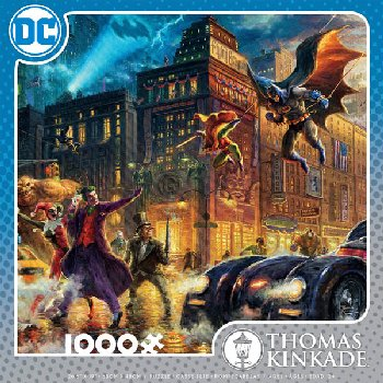 Gotham City Puzzle (Thomas Kinkade) (1000 pieces)