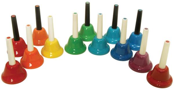 Handbells C-c 13 Note Chromatic Set