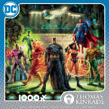 Justice League Puzzle (Thomas Kinkade) (1000 pieces)
