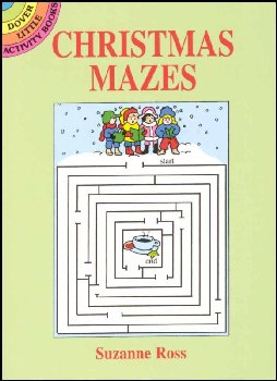 Christmas Mazes Little Activity Book
