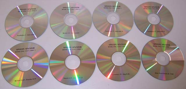 Speedy Spanish 1 CDs ONLY