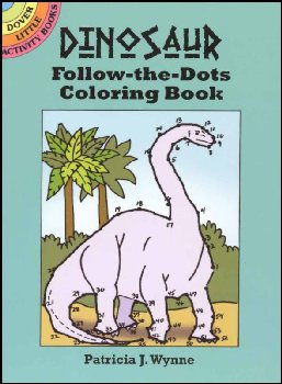 Dinosaur Follow-the-Dots Little Activity Book