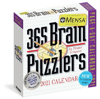 Mensa 365 Brain Puzzlers 2020 Page-A-Day  Calendar