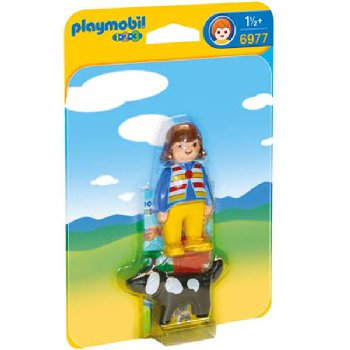 Woman With Dog (Playmobil 1-2-3)
