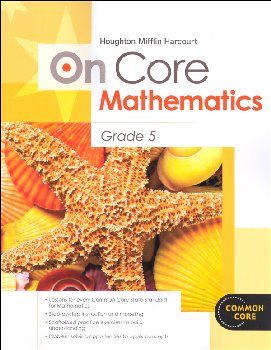 On Core Mathematics Student Edition Worktext Grade 5