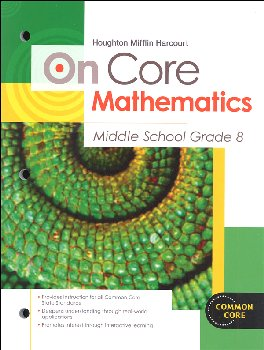 On Core Mathematics Student Edition Worktext Grade 8