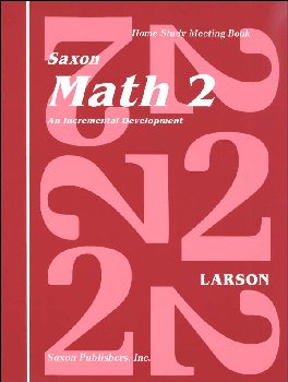 Saxon Math 2 Meeting Book