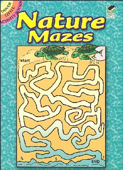 Nature Mazes Little Activity Book