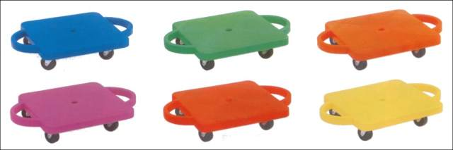 Scooter Board w/ Handles (assorted color)