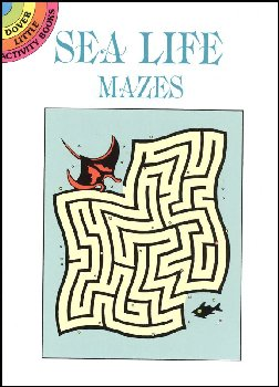 Sea Life Mazes Little Activity Book
