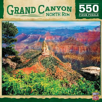Grand Canyon North Rim National Park Puzzle (550 Pieces)