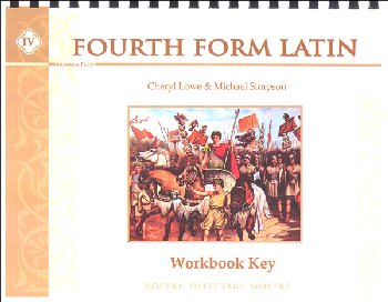 Fourth Form Latin Workbook Key