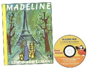 Madeline Book w/ Audio CD