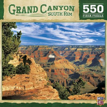 Grand Canyon South Rim National Park Puzzle (550 Pieces)