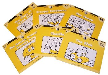 Itty Bitty Phonics Rdrs Blends/Digraphs 6-Pac