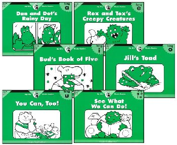 Itty Bitty Phonics Rdrs Long Vowels 6-Pack