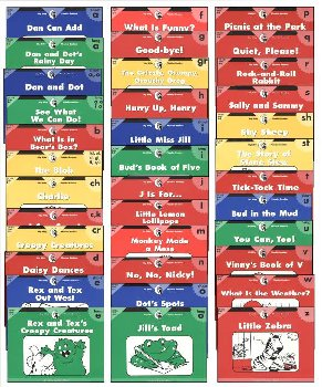 Itty Bitty Phonics Readers Variety Pack (36 b