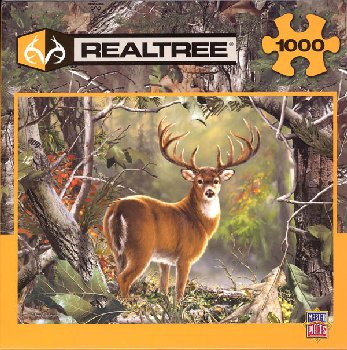 Realtree Back Country Buck Puzzle (1000 Pieces)