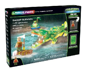 Laser Pegs Swamp Survival