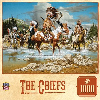 Tribal Spirit The Chiefs Puzzle (1000 Pieces)