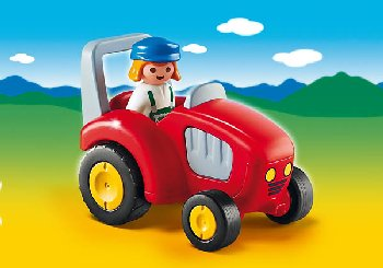 Tractor (Playmobil 1-2-3)