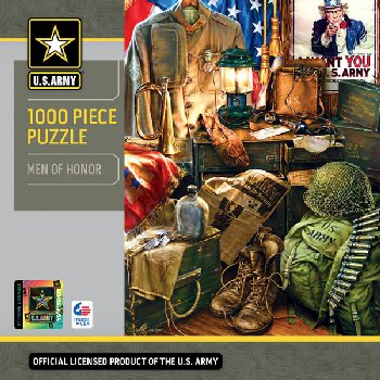 U.S. Army Men of Honor Puzzle (1000 Pieces)