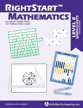 RightStart Mathematics Level E Worksheets 2nd Edition