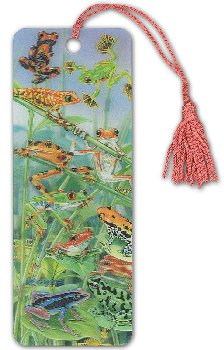 Hanging Around 3D Bookmark