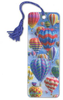 Hot Air 3D Bookmark