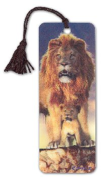 Lion 3D Bookmark