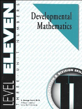 Developmental Math Level 11 Worktext