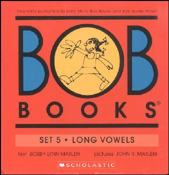 Bob Books Set 5: Long Vowels (Color)
