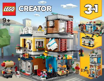 LEGO Creator Townhouse Pet Shop & Cafe(31097)