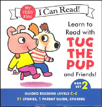 Learn to Read with Tug the Pup and Friends! Box Set 2 (My Very First I Can Read)