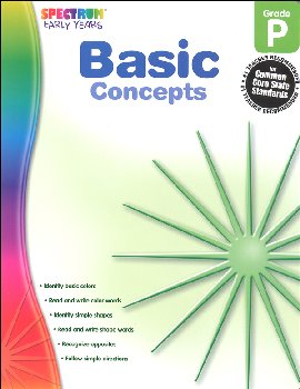 Spectrum Early Years Basic Concepts