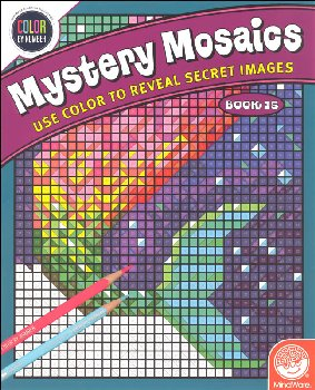 Color By Number Mystery Mosaics Book 15