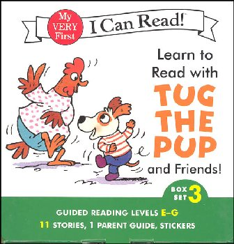 Learn to Read with Tug the Pup and Friends! Box Set 3 (My Very First I Can Read)
