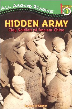 Hidden Army: Clay Soldiers of Ancient China (All Aboard Reading Level 3)