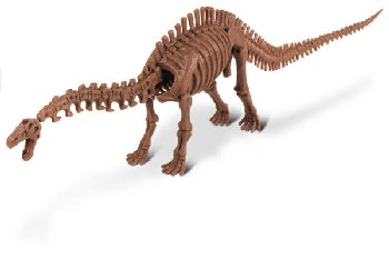 Dino Excavation Kit - Apatosaurus Skeleton (14 Pieces)