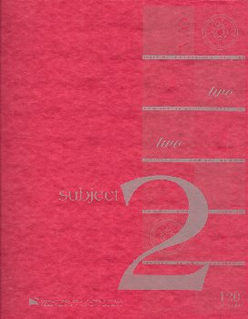Two Sections Wire-O Bound Notebook College Rule 120 Sheets (Constellation Series)