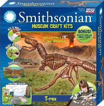 Smithsonian Museum Craft Kit - T-Rex
