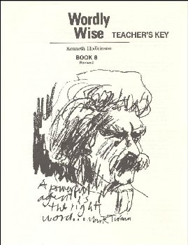 Wordly Wise 8 Teacher Key